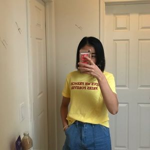 Feed Me French Fries Forever Zara Tee